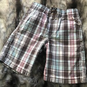 Boys plaid Gymboree shorts